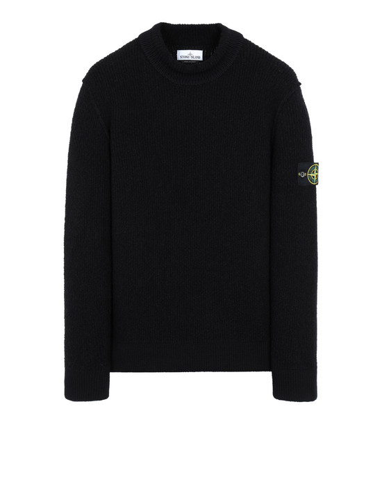 STONE ISLAND 523B3 Sweater Man Black