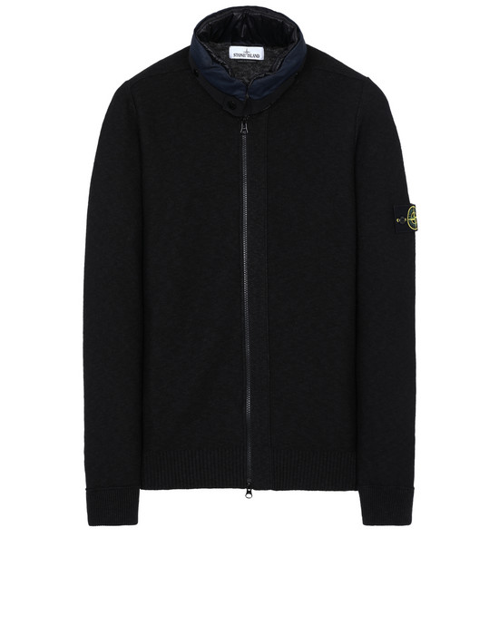 STONE ISLAND 579D1 Sweater Man Black