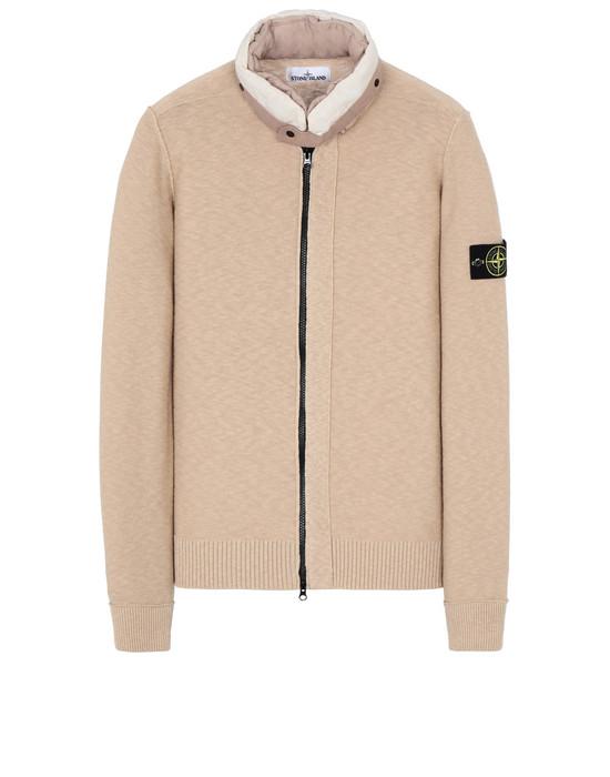 STONE ISLAND 579D1 Sweater Man Ecru