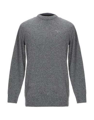 Купить Мужской свитер BARBOUR серого цвета
