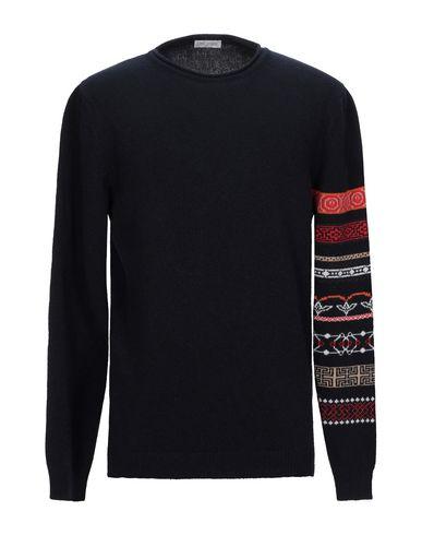 Фото - Мужской свитер DANIELE ALESSANDRINI HOMME темно-синего цвета