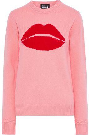 MARKUS LUPFER Mia intarsia wool sweater