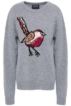 MARKUS LUPFER Intarsia merino wool sweater