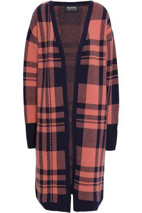 MARKUS LUPFER Checked jacquard-wool cardigan