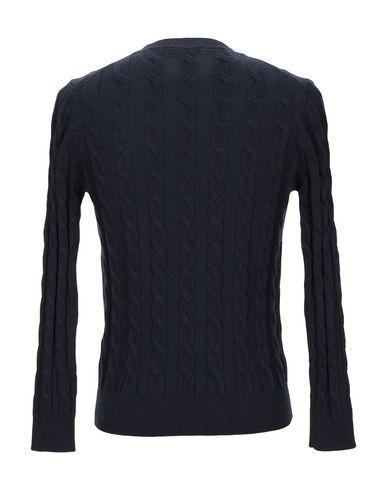 Фото 2 - Мужской свитер BLU CASHMERE темно-синего цвета