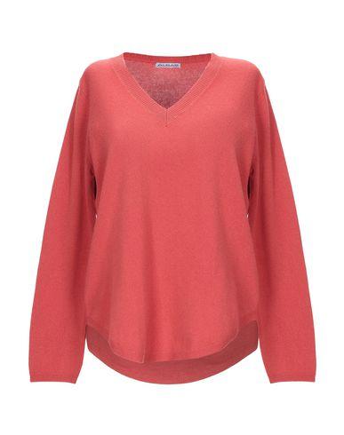 Фото - Женский свитер ALBAS ржаво-коричневого цвета