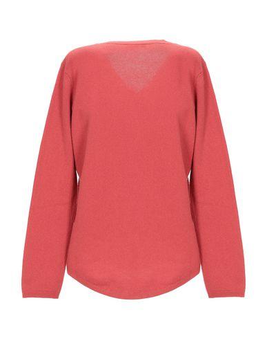 Фото 2 - Женский свитер ALBAS ржаво-коричневого цвета