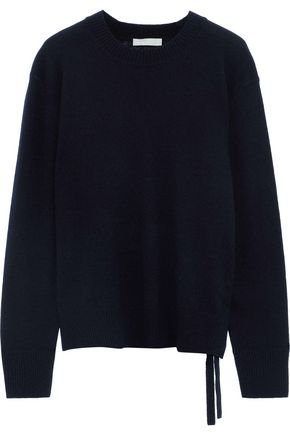 VINCE. Bow-detailed cashmere sweater