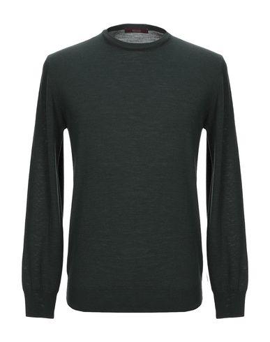Фото - Мужской свитер BECOME темно-зеленого цвета