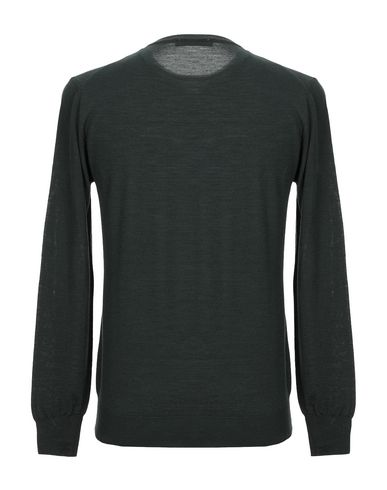 Фото 2 - Мужской свитер BECOME темно-зеленого цвета