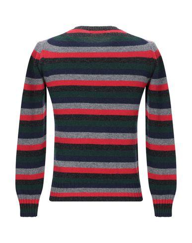 Фото 2 - Мужской свитер RETOIS красного цвета