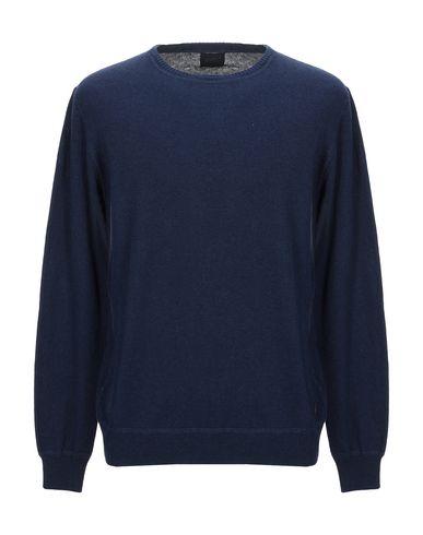 Фото - Мужской свитер 40WEFT темно-синего цвета