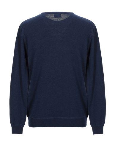 Фото 2 - Мужской свитер 40WEFT темно-синего цвета