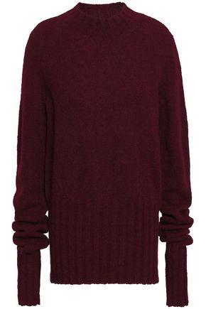 ANN DEMEULEMEESTER Alpaca, silk and mohair-blend sweater