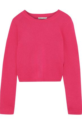 ALICE + OLIVIA Ciara cashmere-blend sweater