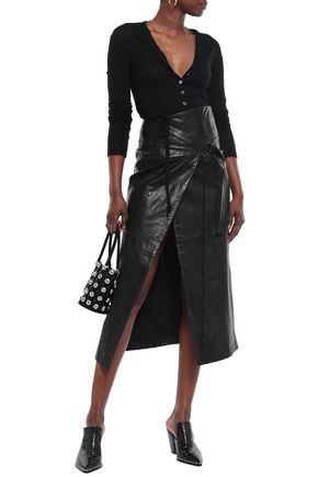 Ann Demeulemeester Woman Lavinia Wool Cardigan Black