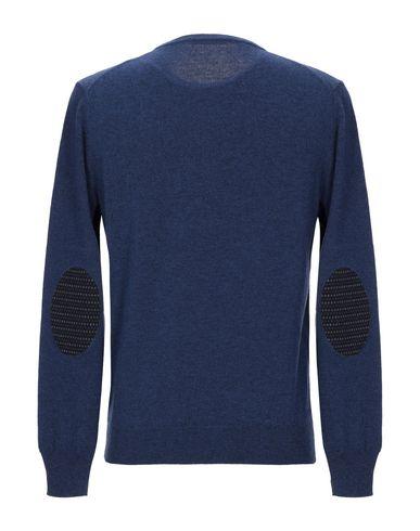 Фото 2 - Мужской свитер  грифельно-синего цвета