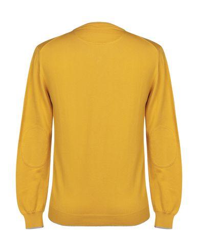 Фото 2 - Мужской свитер  цвет охра