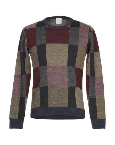 Купить Мужской свитер BICOLORE® красно-коричневого цвета