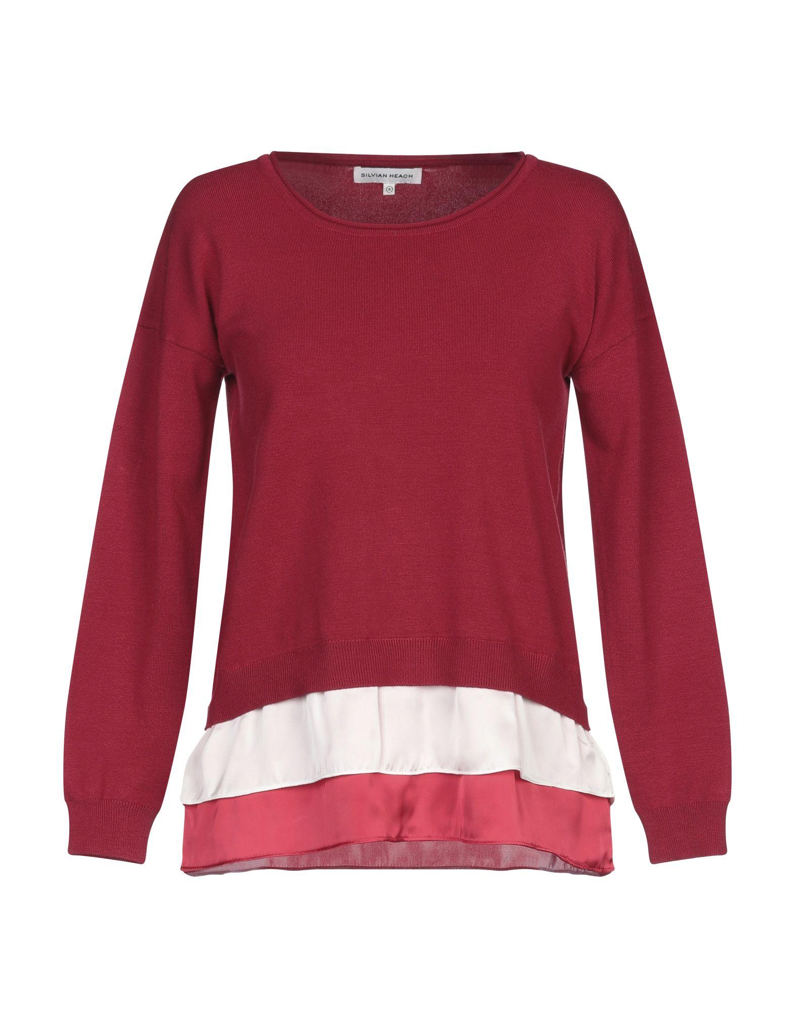 SILVIAN HEACH Свитер свитер женский silvian heach hervey цвет фиолетовый cva18067ma mauve размер m 44
