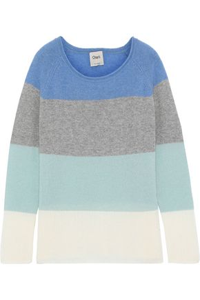 CHARLI Calla color-block cashmere sweater