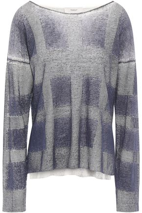 PRINGLE OF SCOTLAND Wool-jacquard sweater