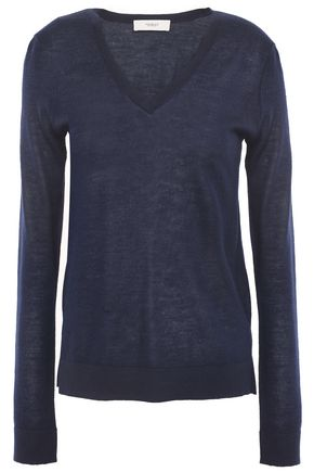 PRINGLE OF SCOTLAND Mélange cashmere-blend sweater