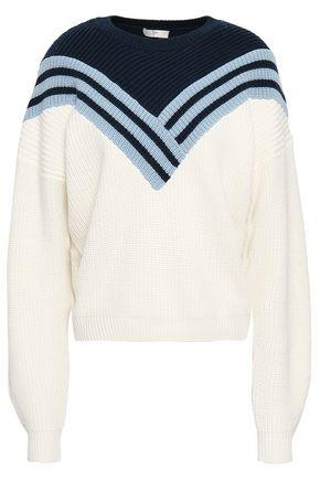 JOIE Intarsia wool sweater
