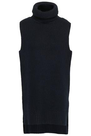 JOSEPH Ribbed wool turtleneck sweater