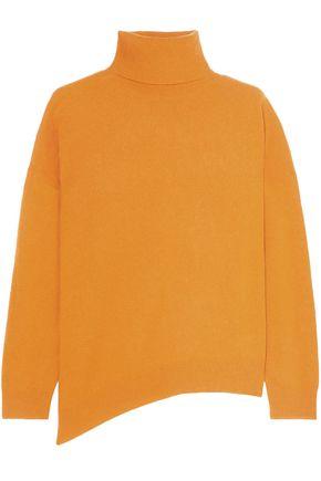 VANESSA BRUNO Asymmetric wool and cashmere-blend turtleneck sweater