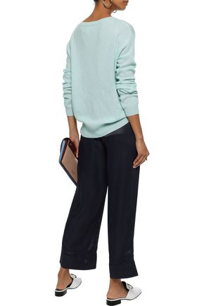 CHARLI Embroidered cashmere sweater