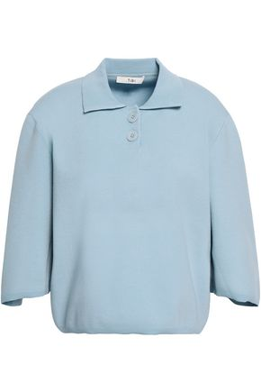 TIBI Wool-blend top