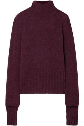 ANN DEMEULEMEESTER Alpaca, mohair and silk-blend turtleneck sweater