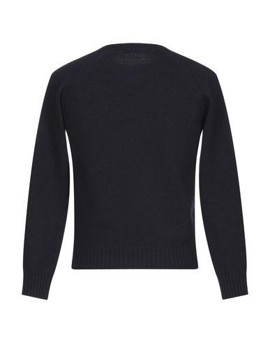 Фото 2 - Мужской свитер LANIFICIO PUBBLICO темно-синего цвета
