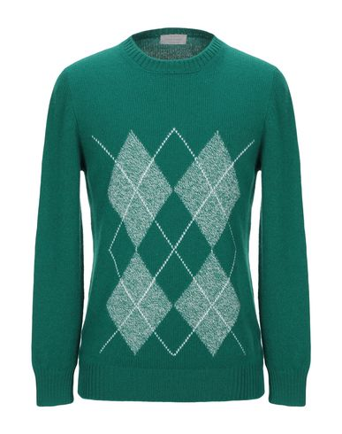 Купить Мужской свитер GRAN SASSO зеленого цвета
