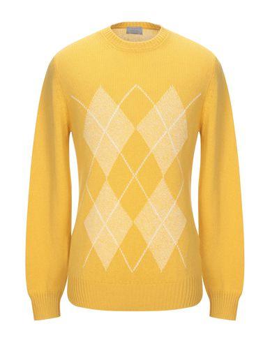 Купить Мужской свитер GRAN SASSO желтого цвета
