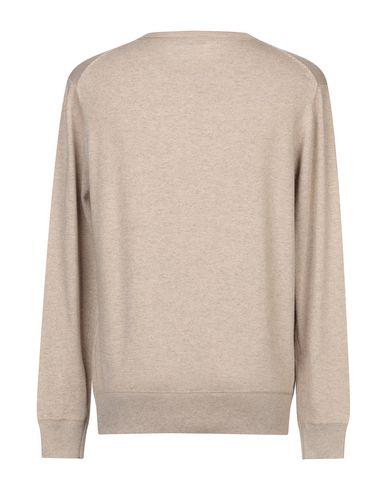 Фото 2 - Мужской свитер BLU CASHMERE бежевого цвета