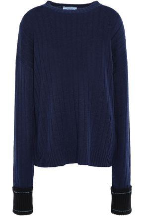PRADA Ribbed cashmere sweater
