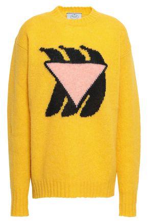 PRADA Intarsia wool sweater