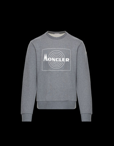 SWEATSHIRT Grey Sweatshirts Man