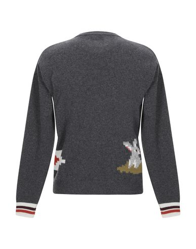 Фото 2 - Мужской свитер MAISON KITSUNÉ свинцово-серого цвета