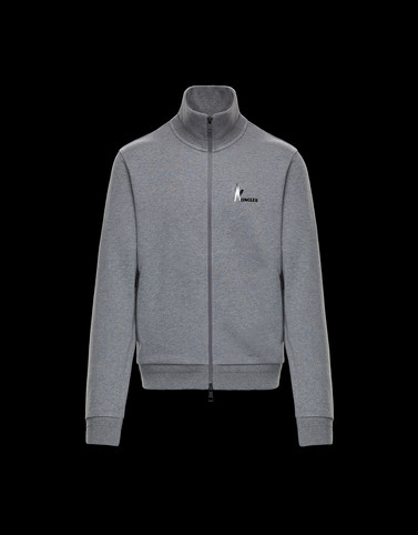 CARDIGAN Grey Category Sweatshirts Man