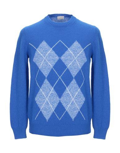 Купить Мужской свитер GRAN SASSO ярко-синего цвета