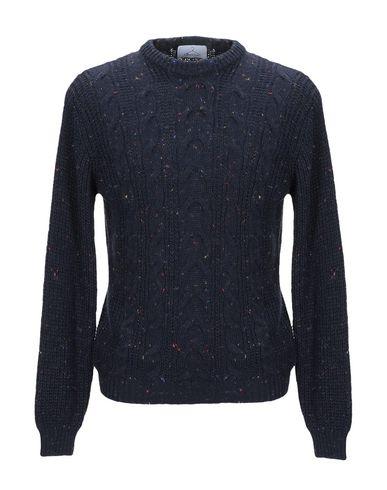 Фото - Мужской свитер BERNA темно-синего цвета