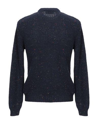 Фото 2 - Мужской свитер BERNA темно-синего цвета