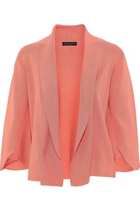 DONNA KARAN Stretch-knit jacket