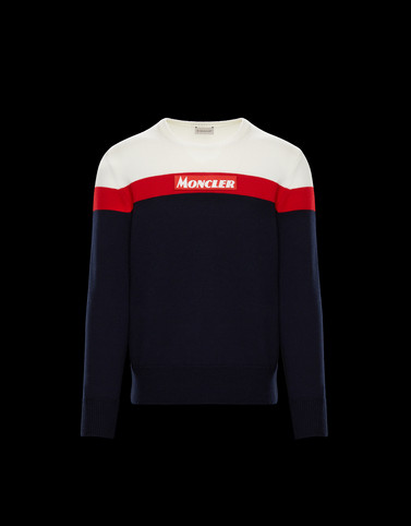 CREWNECK Dark blue Category Jumpers Man