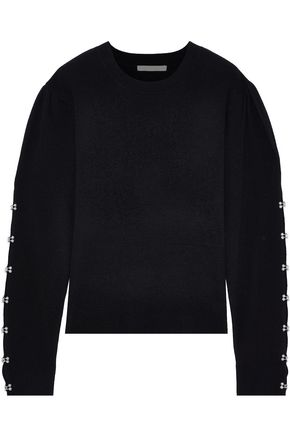 JONATHAN SIMKHAI Embellished wool-blend sweater