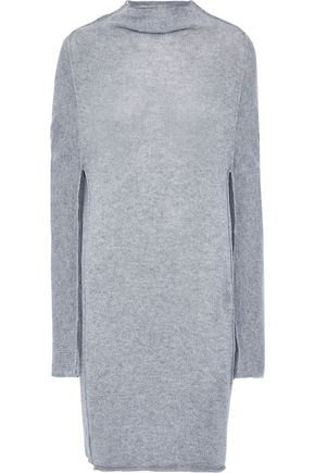 JIL SANDER Mélange cashmere mini dress