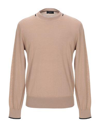 Фото - Мужской свитер  светло-коричневого цвета